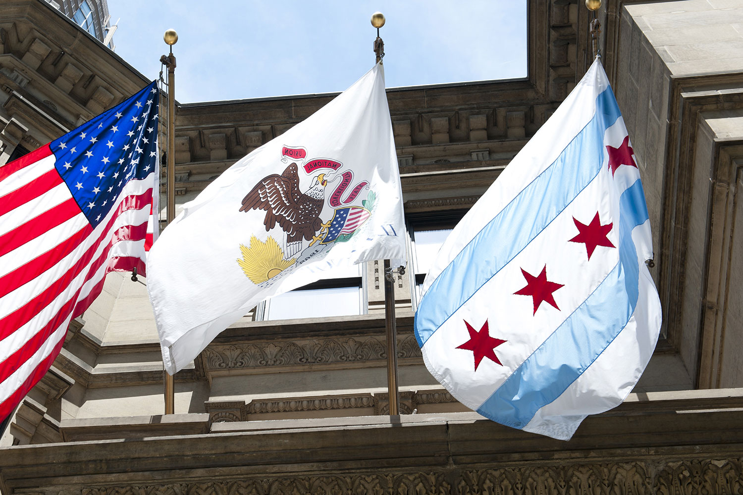 Chicago Flag 1500×1000